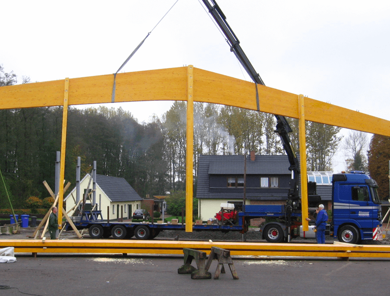 Entladekran / Laumeyer Spezialtransporte