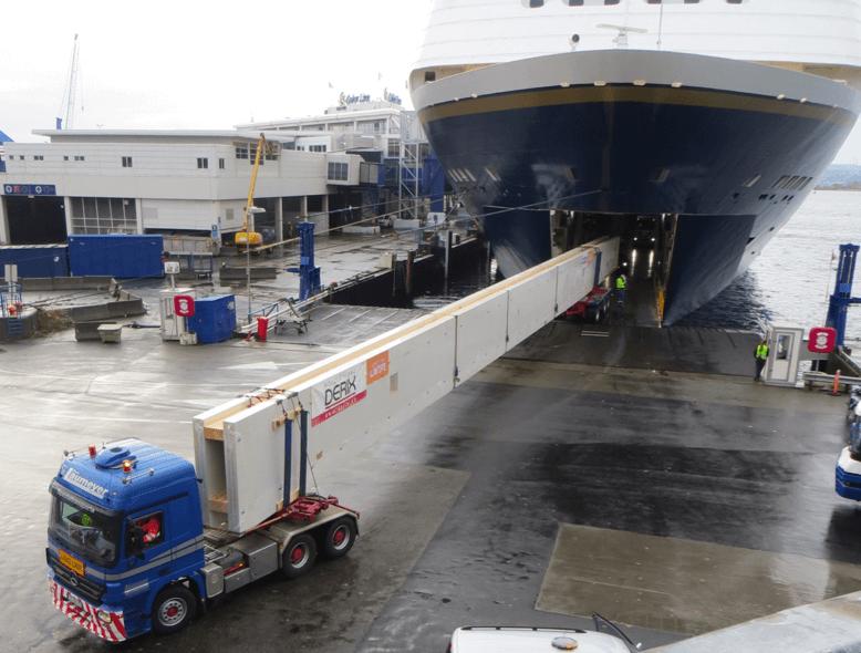 Nachläufer / Laumeyer Spezialtransporte